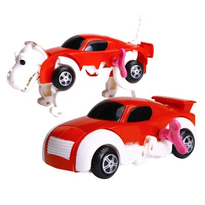 New products gadgets Automatic Transform Dinosaur Car Vehicle Clockwork Wind Up Toy for Children
