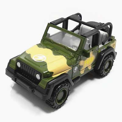 1:55 Zinc Alloy Military Toy Car for Children / Office Decoration - Camouflage
