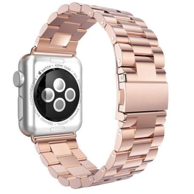 Replacement Stainless Steel Bracelet Strap Band for Apple Watch 42MM