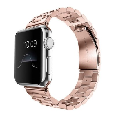 Replacement Stainless Steel Bracelet Strap Band for Apple Watch 38MM