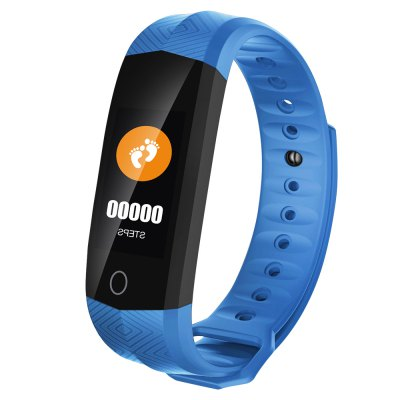 STAR 24 Fitness stater - 0.96 inch Clour OLED Touch Screen - PPG Heart Rate Monitors 1.2M Life Waterproof