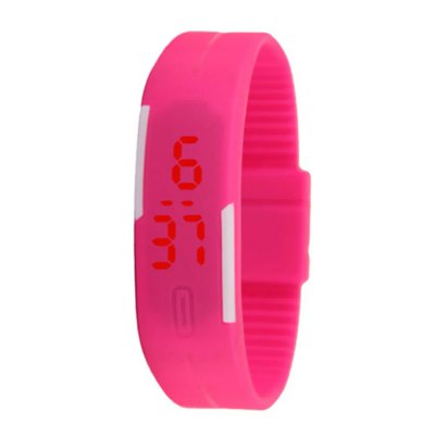 V5 New products gadgets Fashion Candy Color LED Electronic Watch