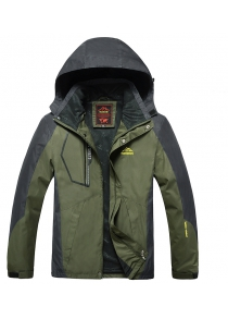 Slim Fashion Men Warm Outdoor Jacket