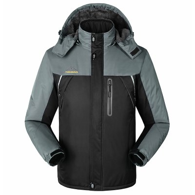 Slim Fashion Wind Men Warm Outdoor Jacket