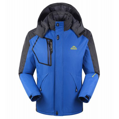Slim Fashion Waterproof Windproof Men Warm Outdoor Jackets