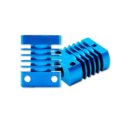 MK10 E3D V6 Heat Sink Radiator Fit 22MM Cooling Fan Aluminum Fins With Size 27X22X12MM 1.06*0.86*0.47 Inch Hot