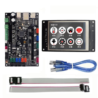 3D Printer Parts MKS TFT32 3.2inch Controller Display + MKS SBASE V1.3 Smoothieboard 32-BIT Controller Board Open Source