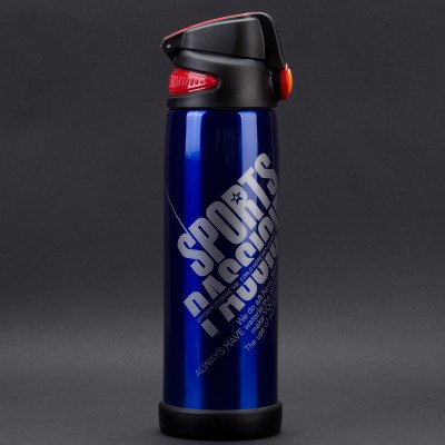 304 Stainless Steel Bicycle Riding Sports Water Bottle Portable Double Cover Vacuum Cup