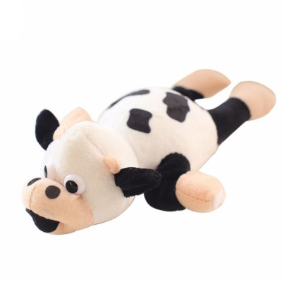 New products gadgets Funny Paw Toys Lovely Novelty Flying Cow Screaming Slingshot Plush Toys Kids Gift