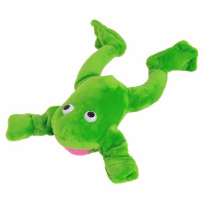 New products gadgets Funny Paw Toys Lovely Novelty Flying Frog Screaming Slingshot Plush Kids Gift