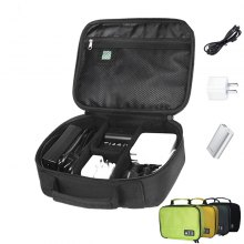 Portable Digital Accessories Gadget Devices Organizer USB Cable Charger Tote Case Storage Bag Travel