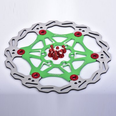 MTB DH 6 Nails 160mm Color Floating Disc Brake Rotor Cycling Bicycle Rotors