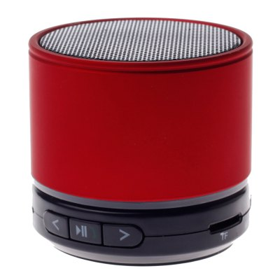 Bluetooth Speaker with TF Card Function Red