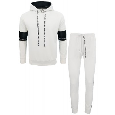 Men Fall Hoodie Leisure Sport Suit Trousers