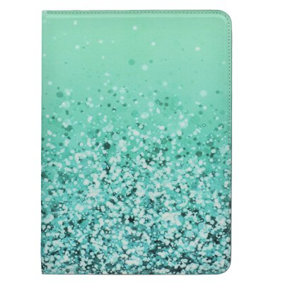 Intelligent Dormancy Series Protector Waterproof Three-Fold Color Bracket Leather Cover for iPad 5/6 Leather Cover
