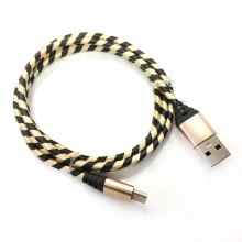 1M Nylon Braid Type-c Data Charger Usb Cable for Android