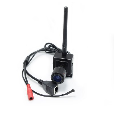 H.264 Audio 720P ONVIF 2.8-12MM Manual Varifocal Zoom Lens Mini Wifi IP Wireless Camera P2P Support Android IPhone