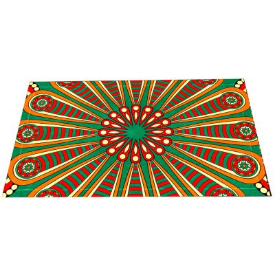 Colourful European Style Retro Pattern Mat
