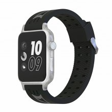 42MM Soft Silicone Replacement Sport Strap Rubber Wristband for Apple Watch Series 3/2/1