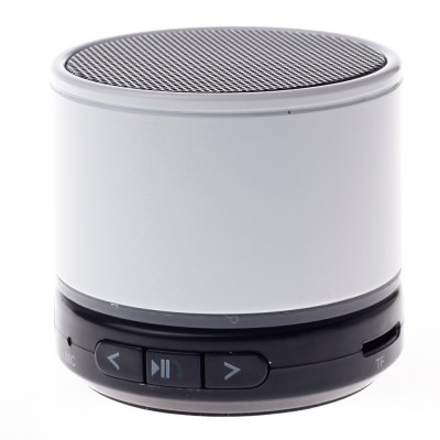 Bluetooth Speaker with TF Card Function White