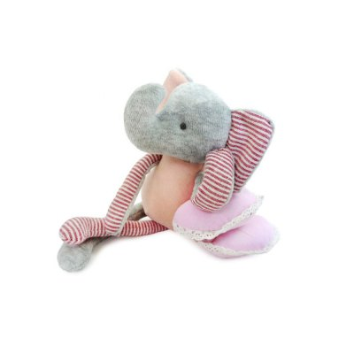 Pink Baby Cotton Cloth Elephant Dolls