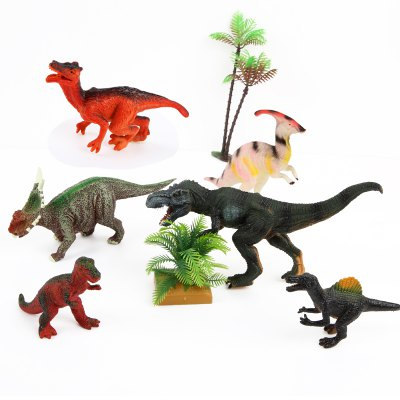 Dinosaur Forest Plastic Model Toy A