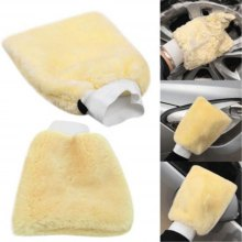 Car Wash Wool Gloves Double-Sided Car Wash(1pc)