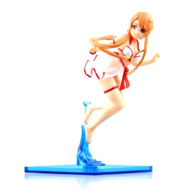 Cute Girl Wearing A Swimsuit Cartoon Action Figure Collectible Toy