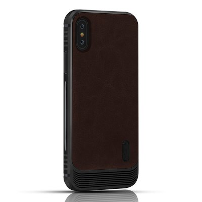 High Quality and Environmental Protection TPU Case PU Leather Cover Magnetic Case for iPhone X