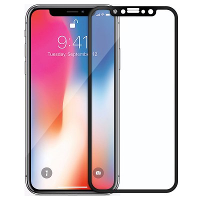 4D All Screen Tempered Glass Screen Protector for iPhone X