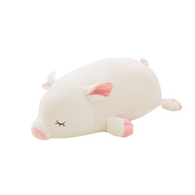 Cuddly Little White Pig Doll