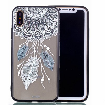For iPhone X Phone Case New products gadgets Embossed Phone Shell