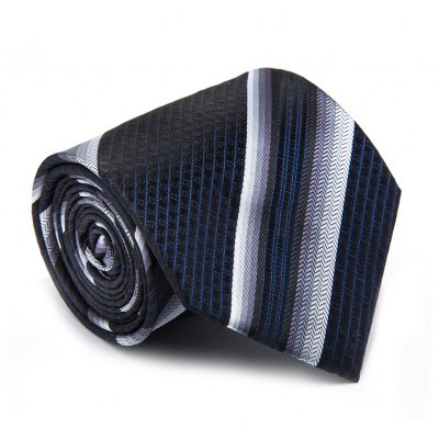 New products gadgets Casual Men Tie Striped Breathable Business Necktie