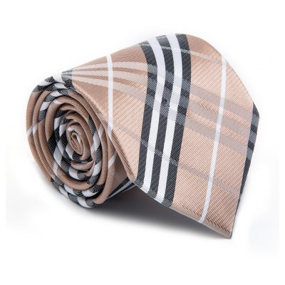 New products gadgets Fashion Men Tie Classical Business Striped Color Block Comfy Necktie