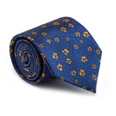 New products gadgets Fashion Fine Men Tie Floral Pattern Simple Style Casual Ventilate Necktie Accessory