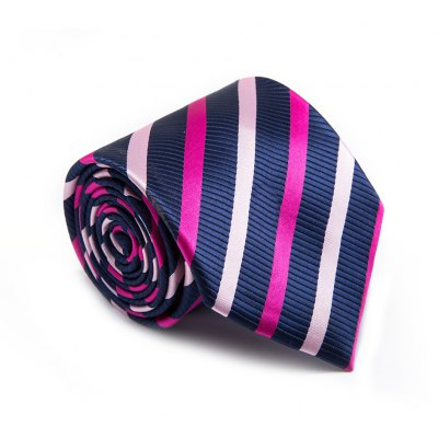 New products gadgets Fashion Fine Men Tie Business Striped Classical Color Block Comfy Necktie Accessory