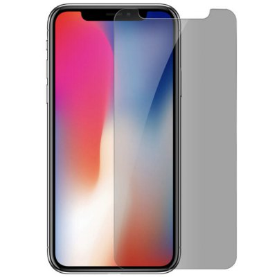 for iPhone X Privacy Screen Protector - Anti-Spy Anti-Peep Tempered Glass Screen Cover