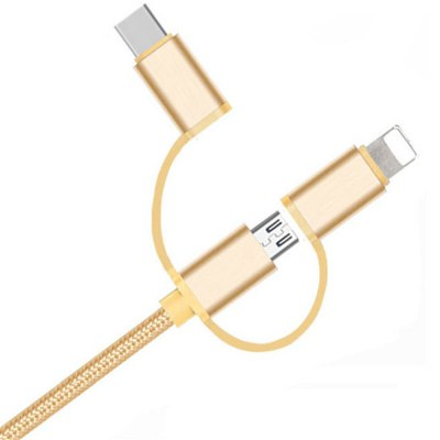 1M Weave Triad Headphone Cables