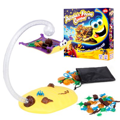 Suspension Magic Flying Carpet Interactive Fly Monty Blanket Children Educational Toys Balance Board Games