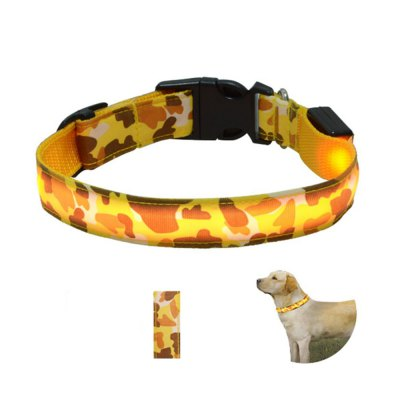 Yeshold High-end LED Camouflage Pet Collar