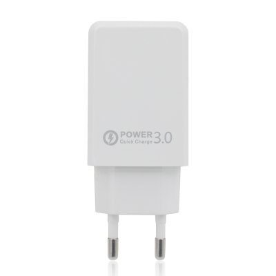QC 3.0 Travel Power Adapter EU Plug Wall Charger Quick Charge