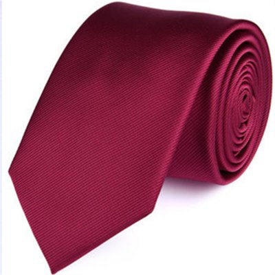 New products gadgets fashion business tie men's pure color twill
