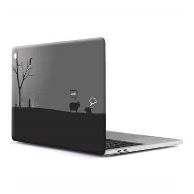 Computer Shell Laptop Case Keyboard Film for MacBook Pro 13.3 inch 3D Wallpaper Series 4