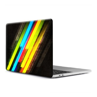 Computer Shell Laptop Case Keyboard Film for MacBook Pro 13.3 inch 3D Wallpaper Series 22