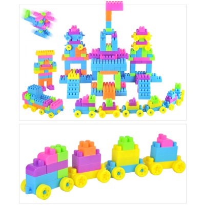 Creative Building Blocks Intelligence Toy for Kids 96 Pieces