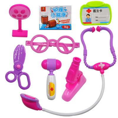 Children Doctors Toy Stethoscope Injections