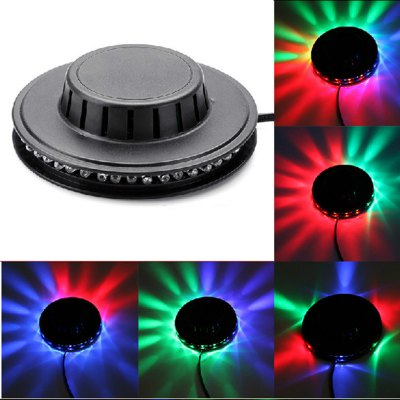 Sound Activated Revolving UFO LED Laser Stage KTV Bar Party Wedding Club Projector Light
