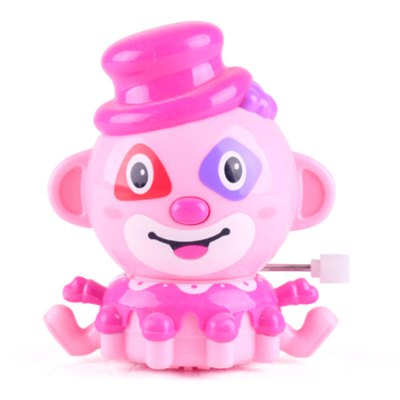 New products gadgets Automatic Cartoon Mini Clown Clockwork Wind Up Toy for Children