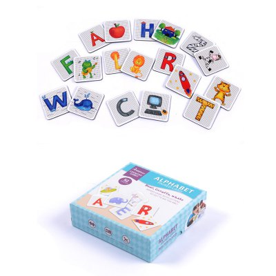 Alphabet Learning Matching Card Educational Toy