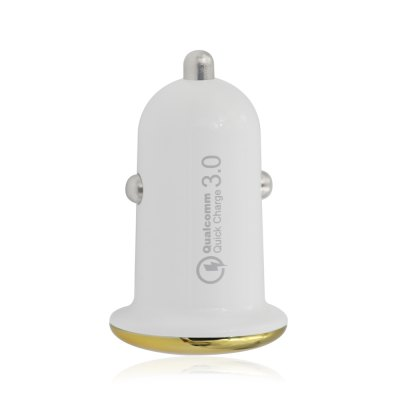 QC3.0 USB 3.0 Car Charger Adapter Mini Universal 15W 6V/3A Quick Charge